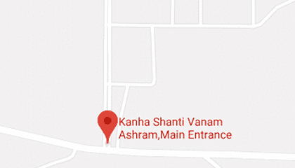 kanha shanti vanam address in google map