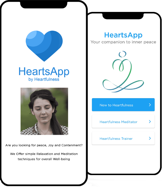 heartfulness meditation app - heartsapp