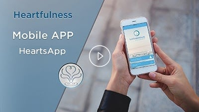 heartfulness meditation mobile app - heartsapp