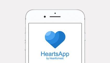 heartfulness meditation app - heartsapp