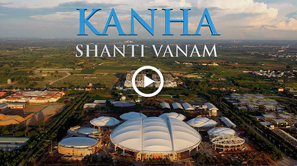 the largest meditation hall at kanha shanti vanam